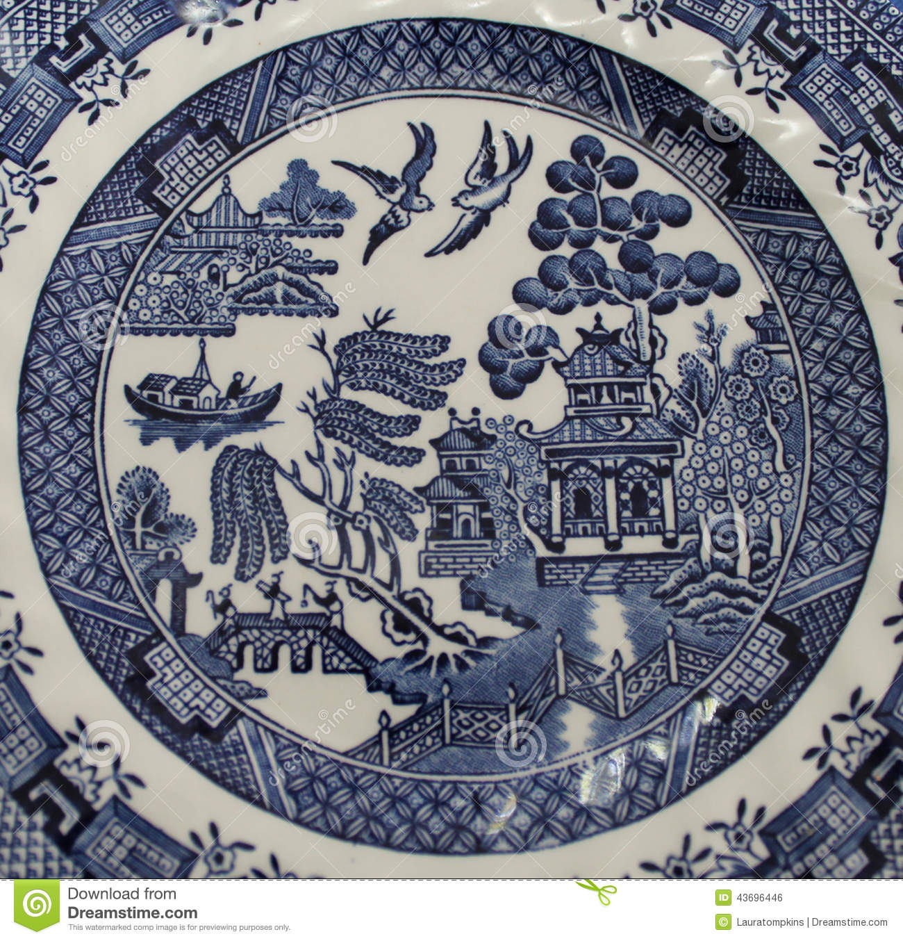 Popular China Patterns Part - 48: Been Blue Centuries China Classic Companies Detail Different Many Old  Pattern Plate Popular ...
