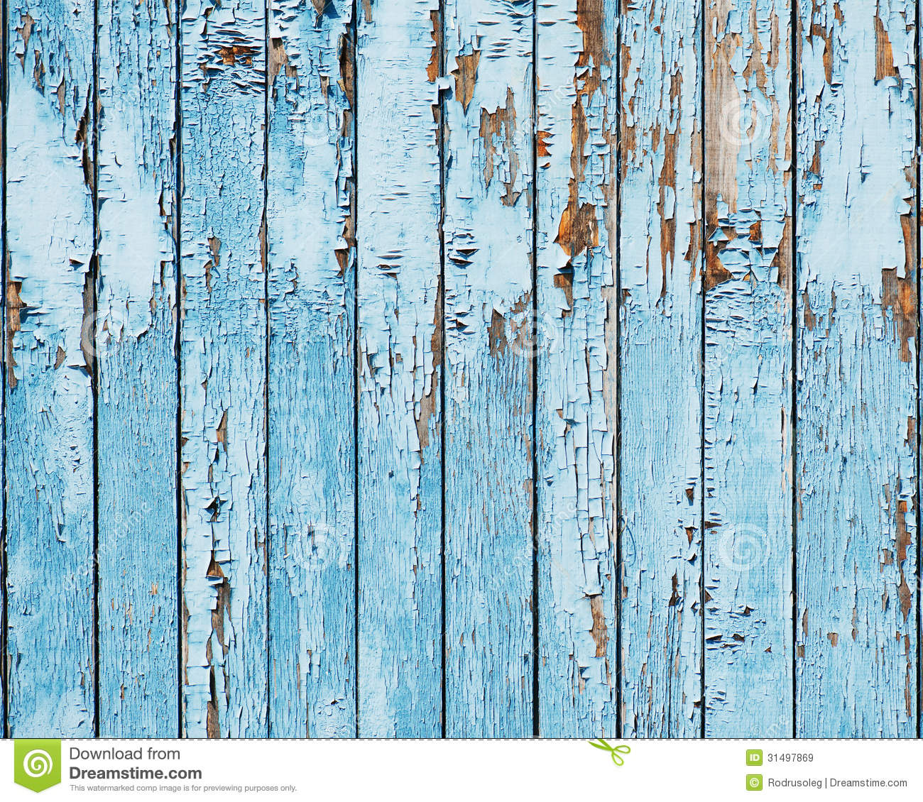 Old Blue Wood Plank Background Stock Image Image 31497869