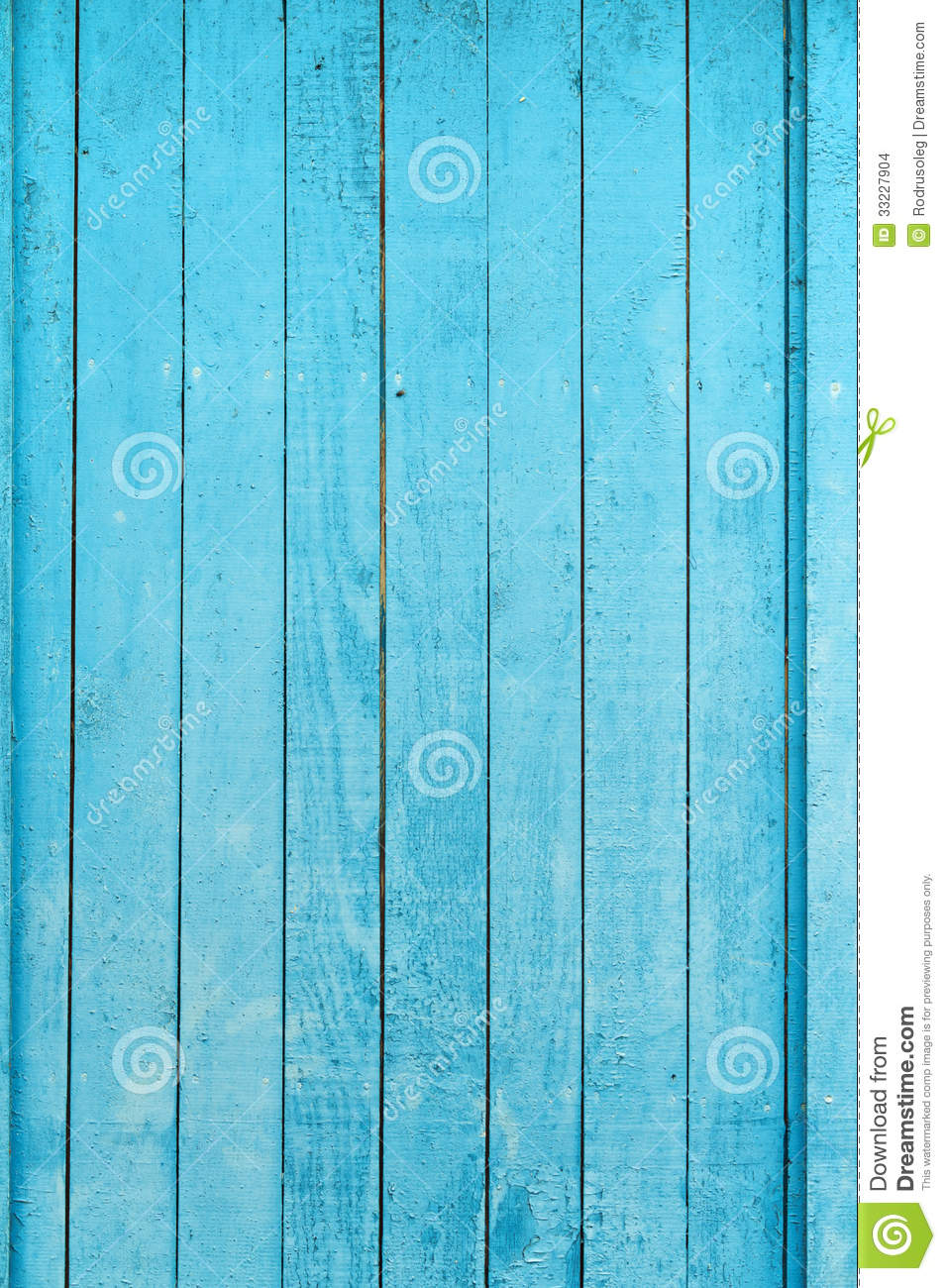 Old Blue Wood Plank Background Stock Photo Image 33227904