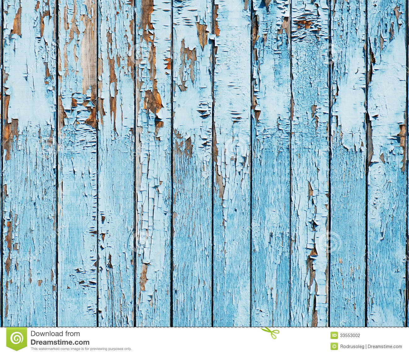 Old Blue Wood Plank Background. Stock Photo - Image: 33553002