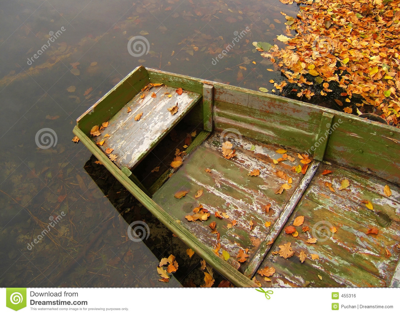 Download Old boat stock photo. Image of boat, lake, autumn, farm - 455316