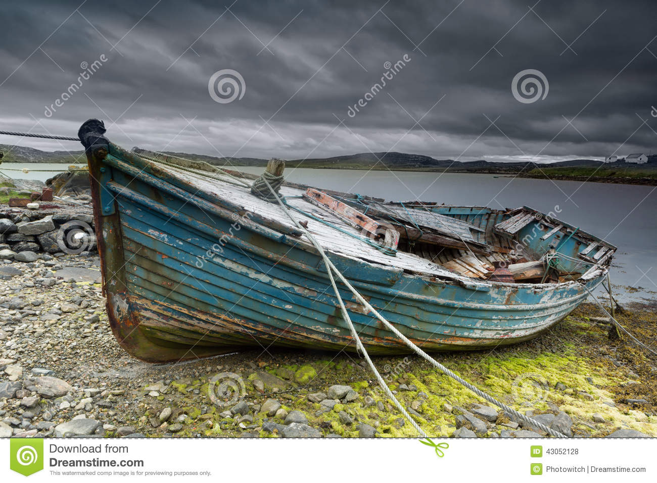 Old boat on beach stock photo image of damaged nature for What to do with an old boat