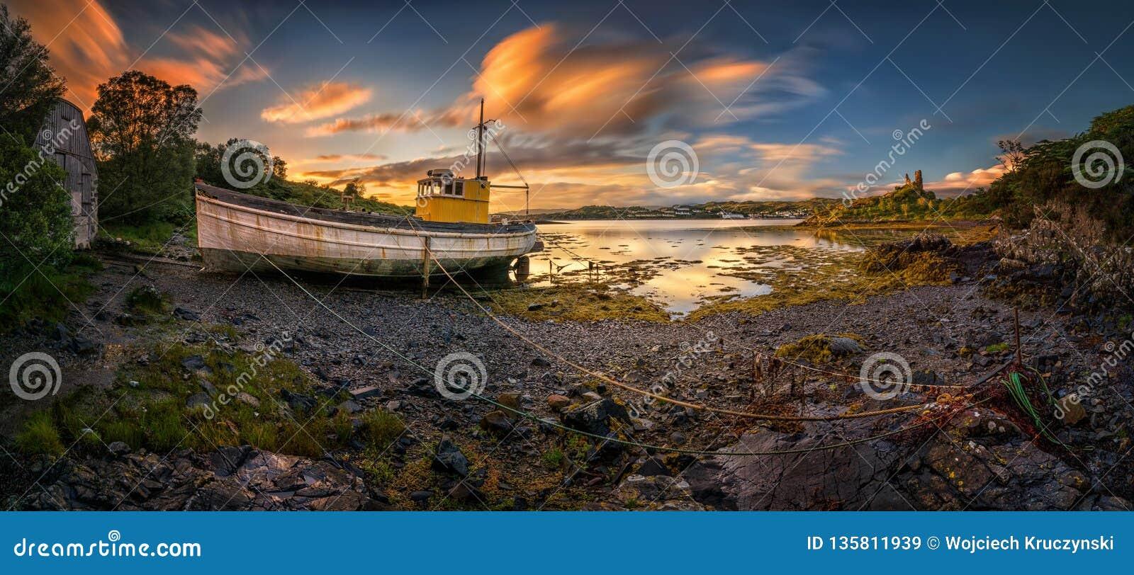 Kyleakin old harbour