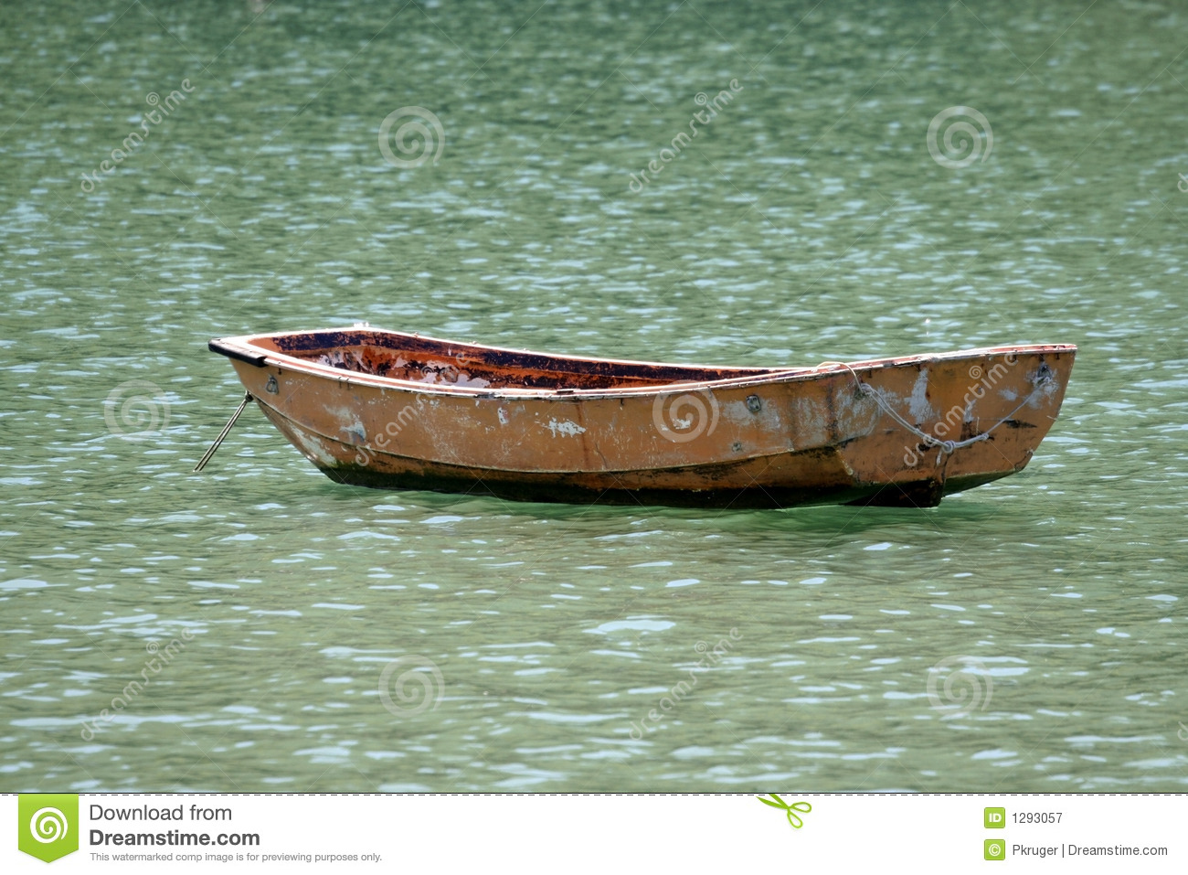 Old Boat In A Sea Royalty Free Stock Photography - Image: 1293057