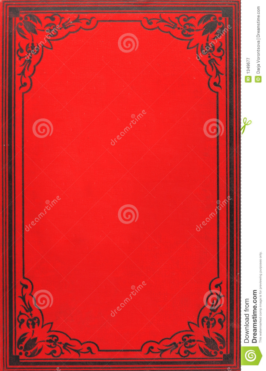 Old book cover stock image. Image of library, page, ancient - 1349677