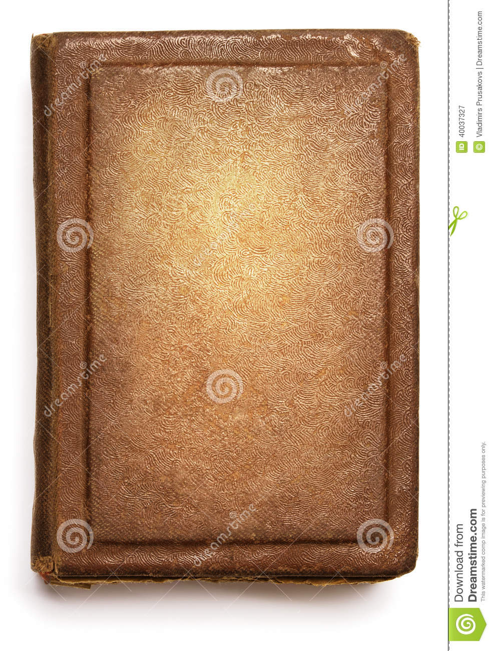 Grunge Book Cover Texture : Old book cover blank texture empty grunge design on white