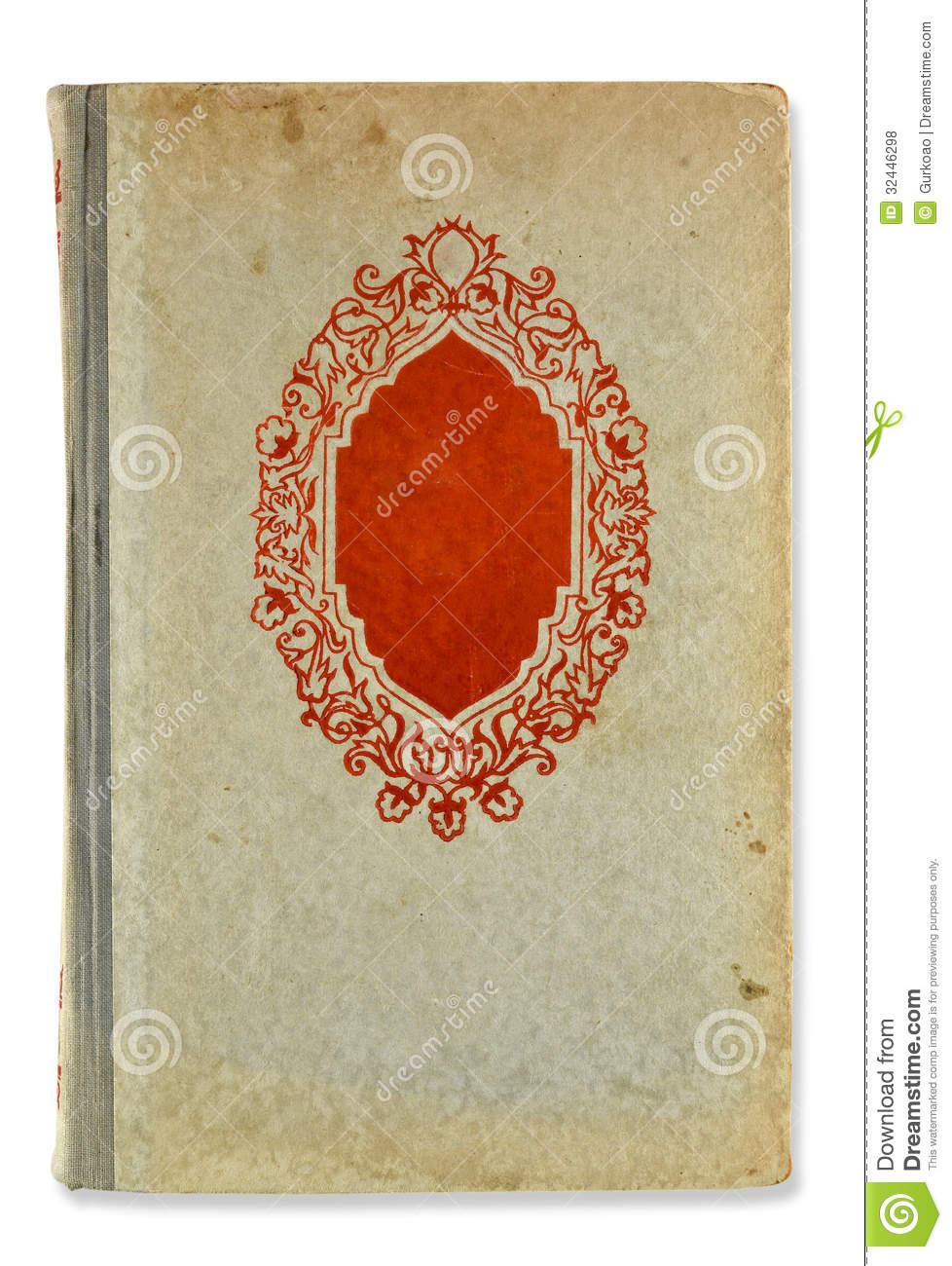 Old Book Cover Background ~ Old book cover royalty free stock photos image