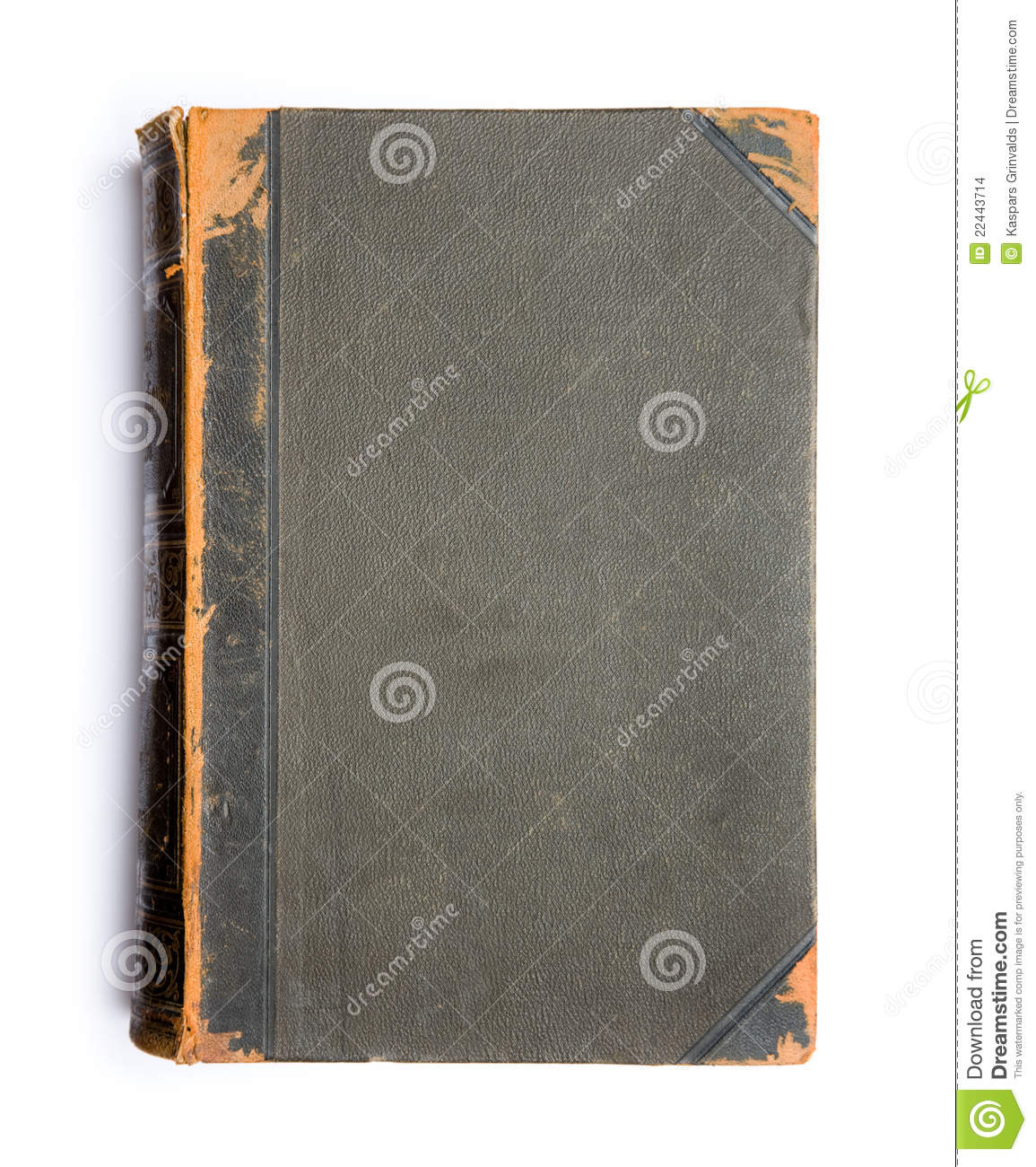 Old book s cover