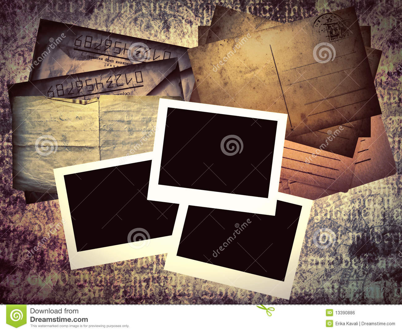 old book template stock illustration illustration of letters 13390886