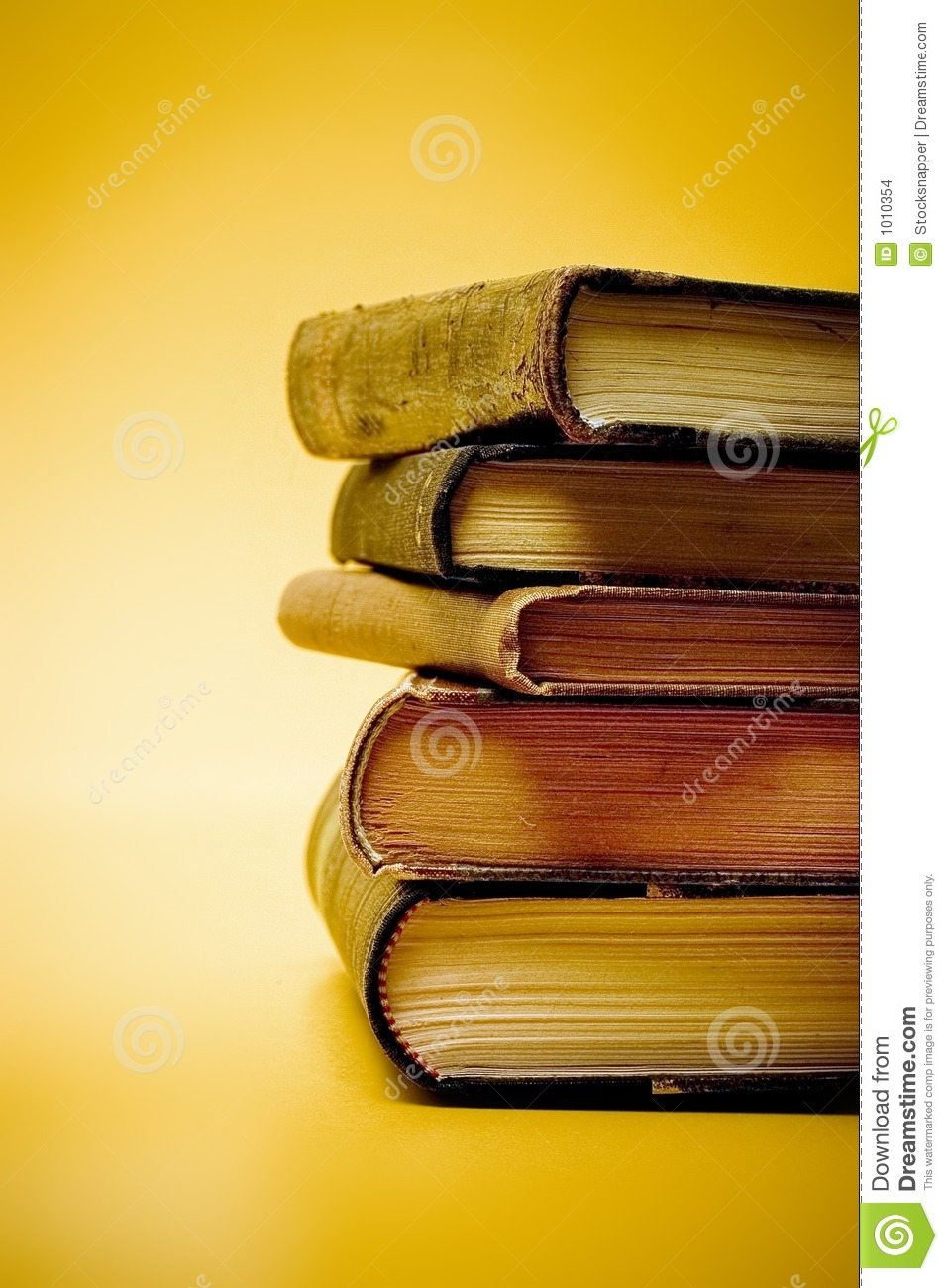 Old Books Stacked Stock Images - Image: 1010354