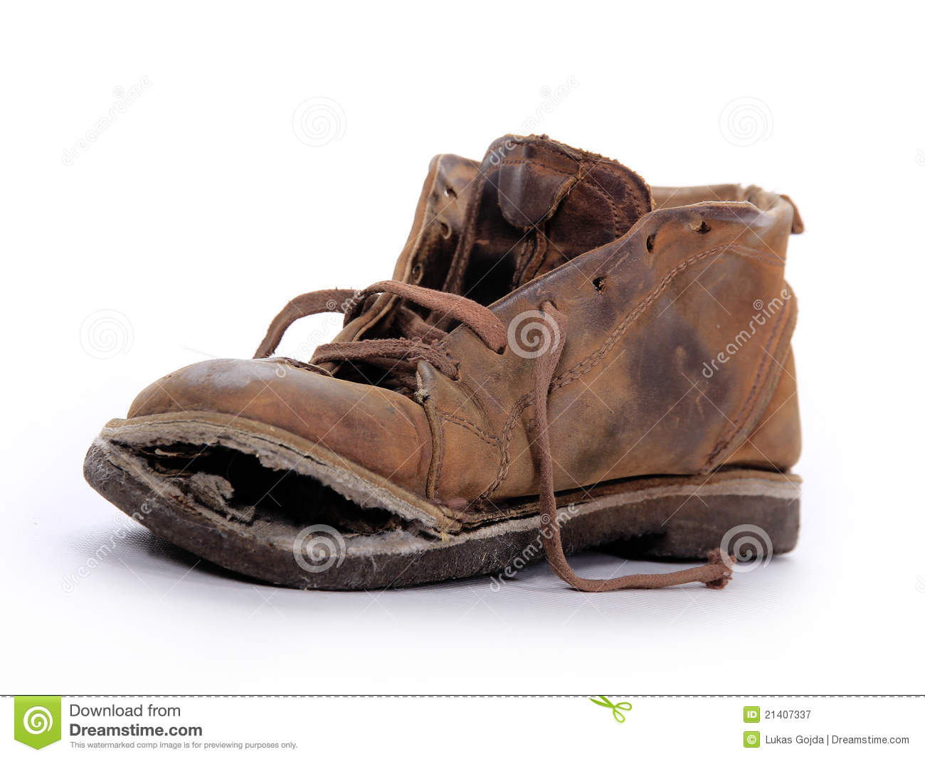 Old Boot Royalty Free Stock Photography - Image: 21407337