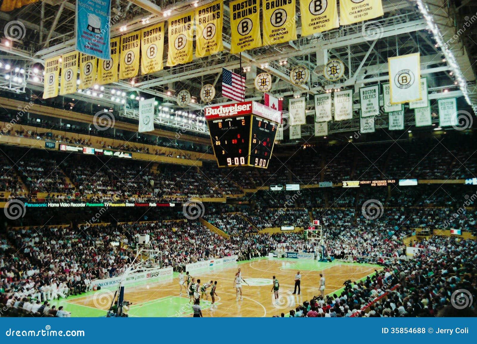 Old Boston Garden, Boston, MA. Editorial Stock Photo ...