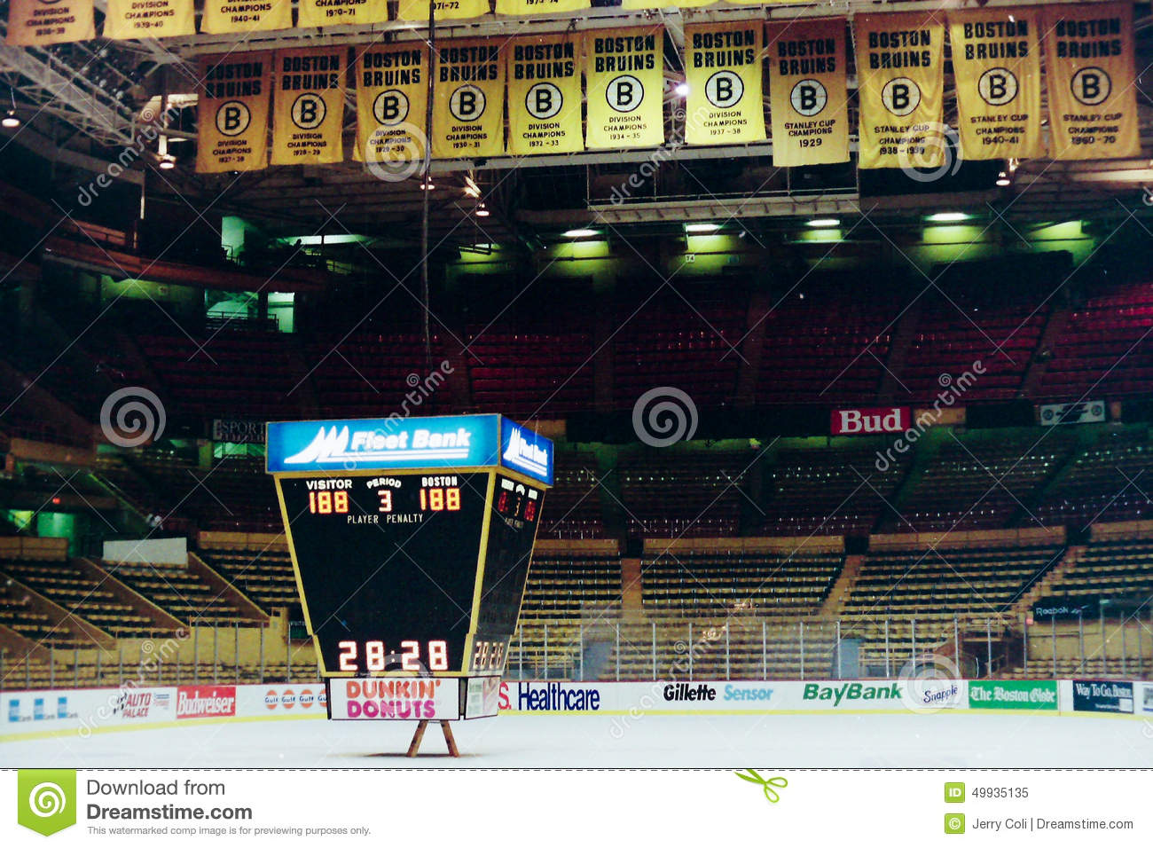 Old Boston Garden Boston MA Editorial Image Image 73755355