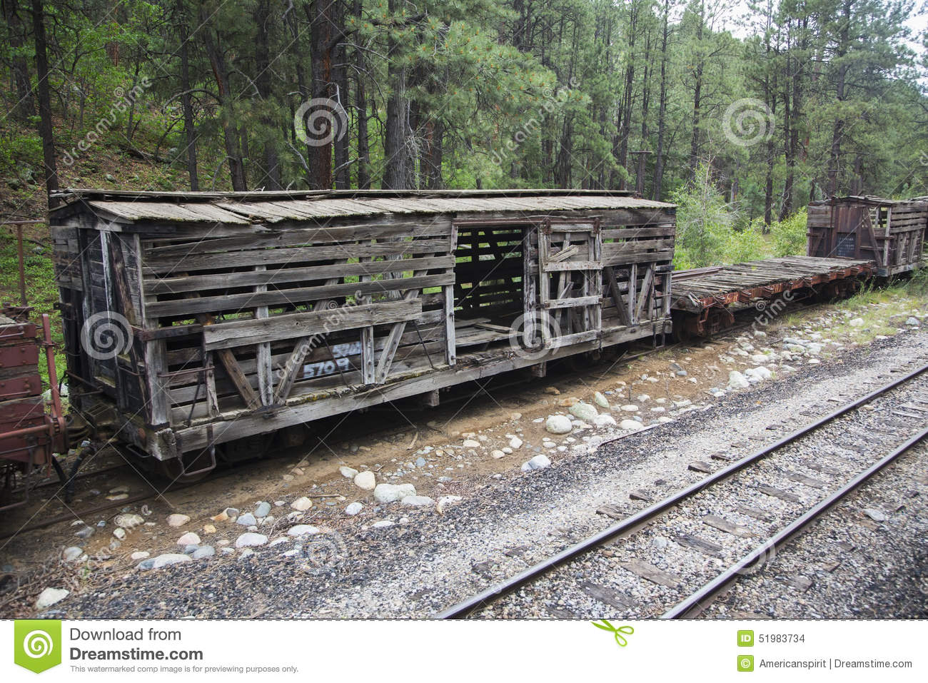 ... Narrow Gauge Railroad Steam Engine Train near Durango, Colorado, USA