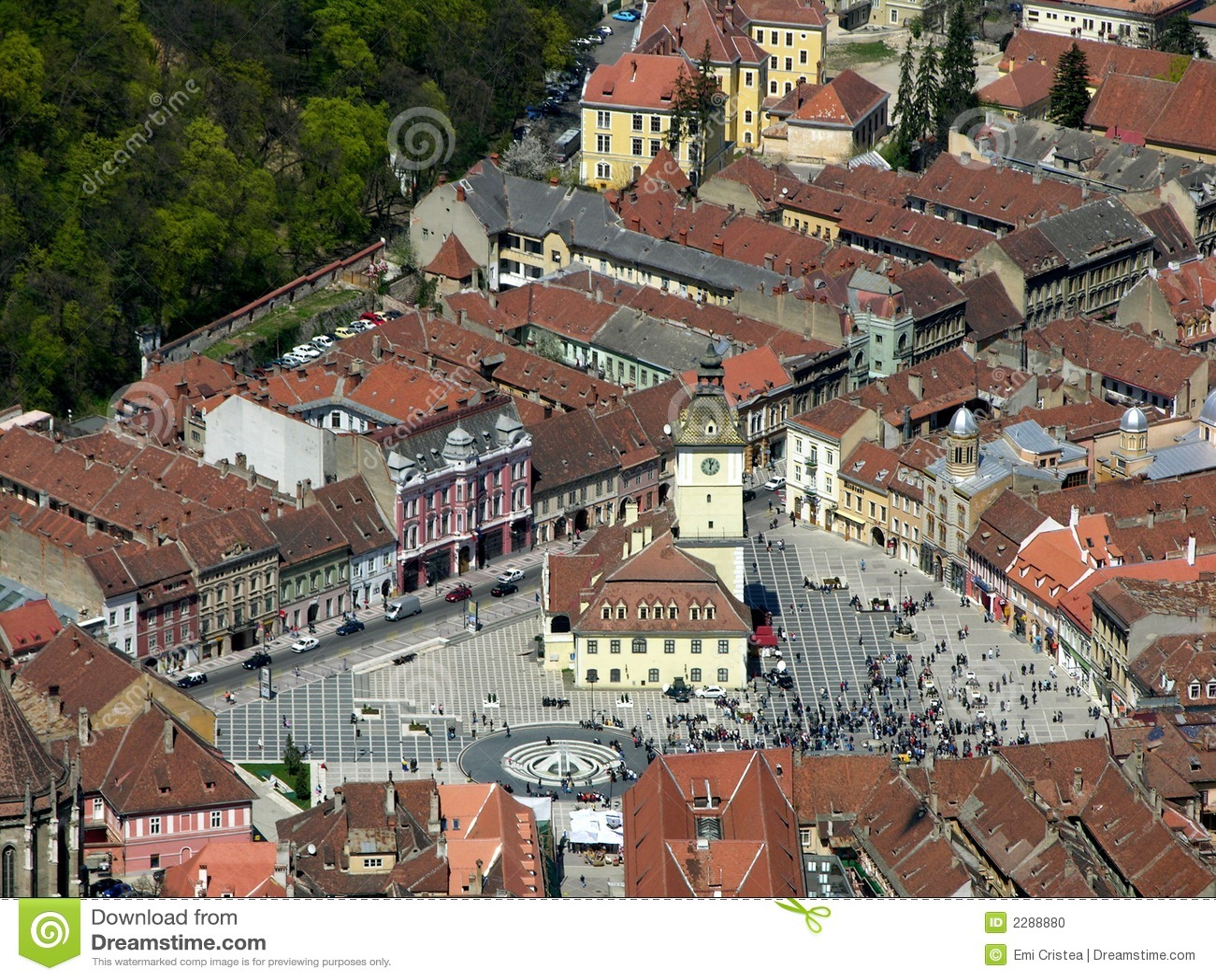 Old Brasov in Romania