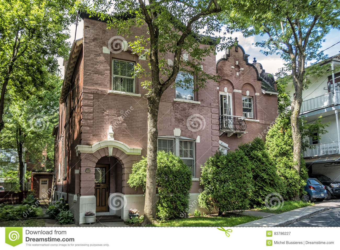 old brick house editorial photography image 83786227