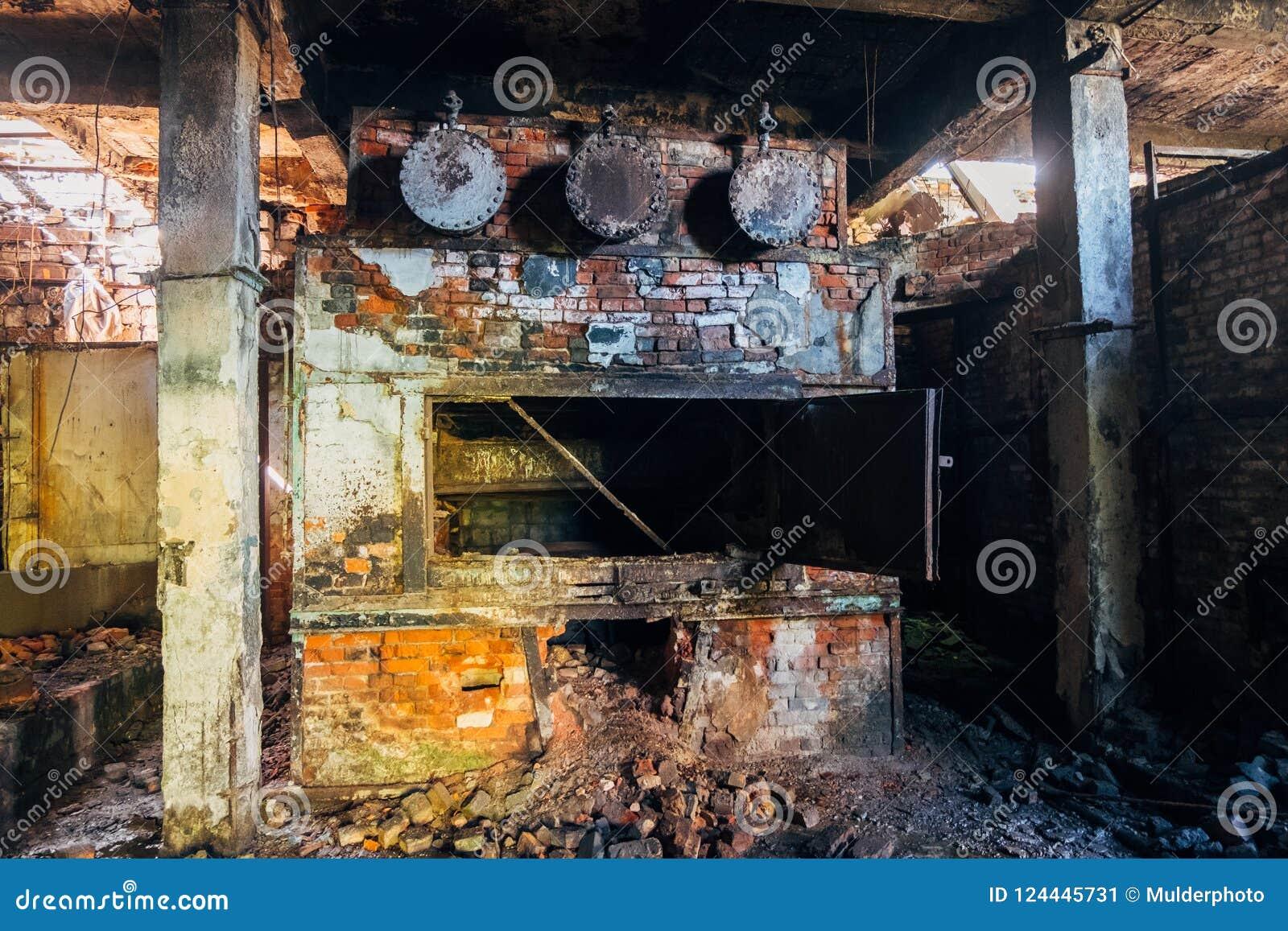 Boiler Room In The Basement Stock Photo Cartoondealer