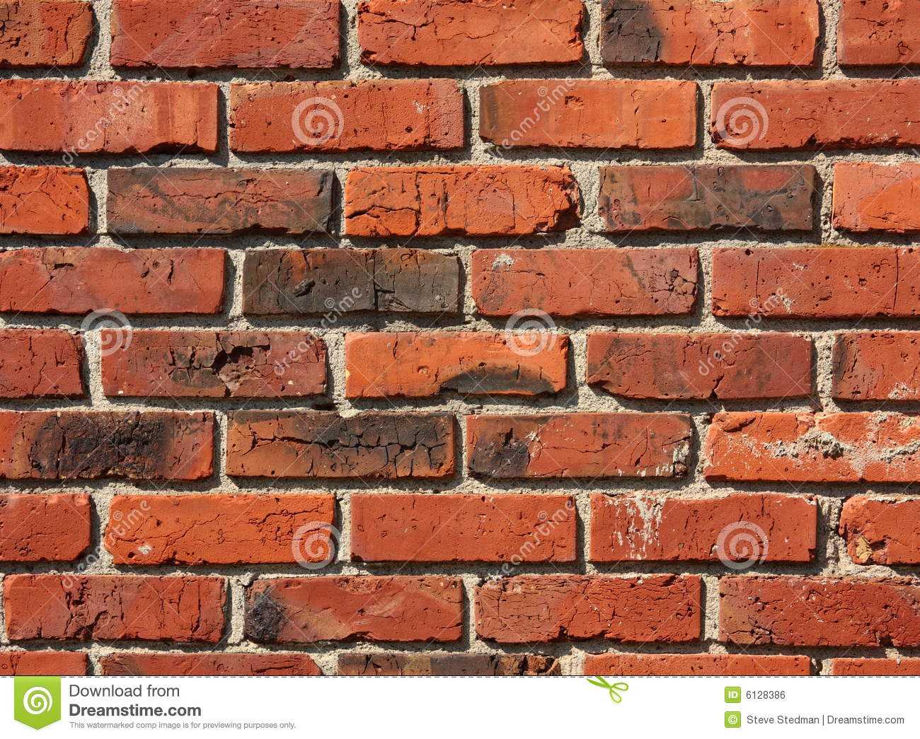 Old Brick And Mortar Wall Pattern Stock Photo - Image: 6128386