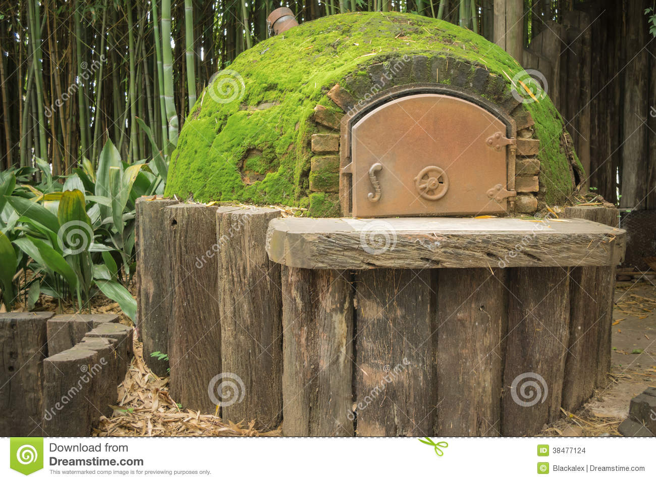 Old Brick Oven Stock Photo Image Of Vintage Metal