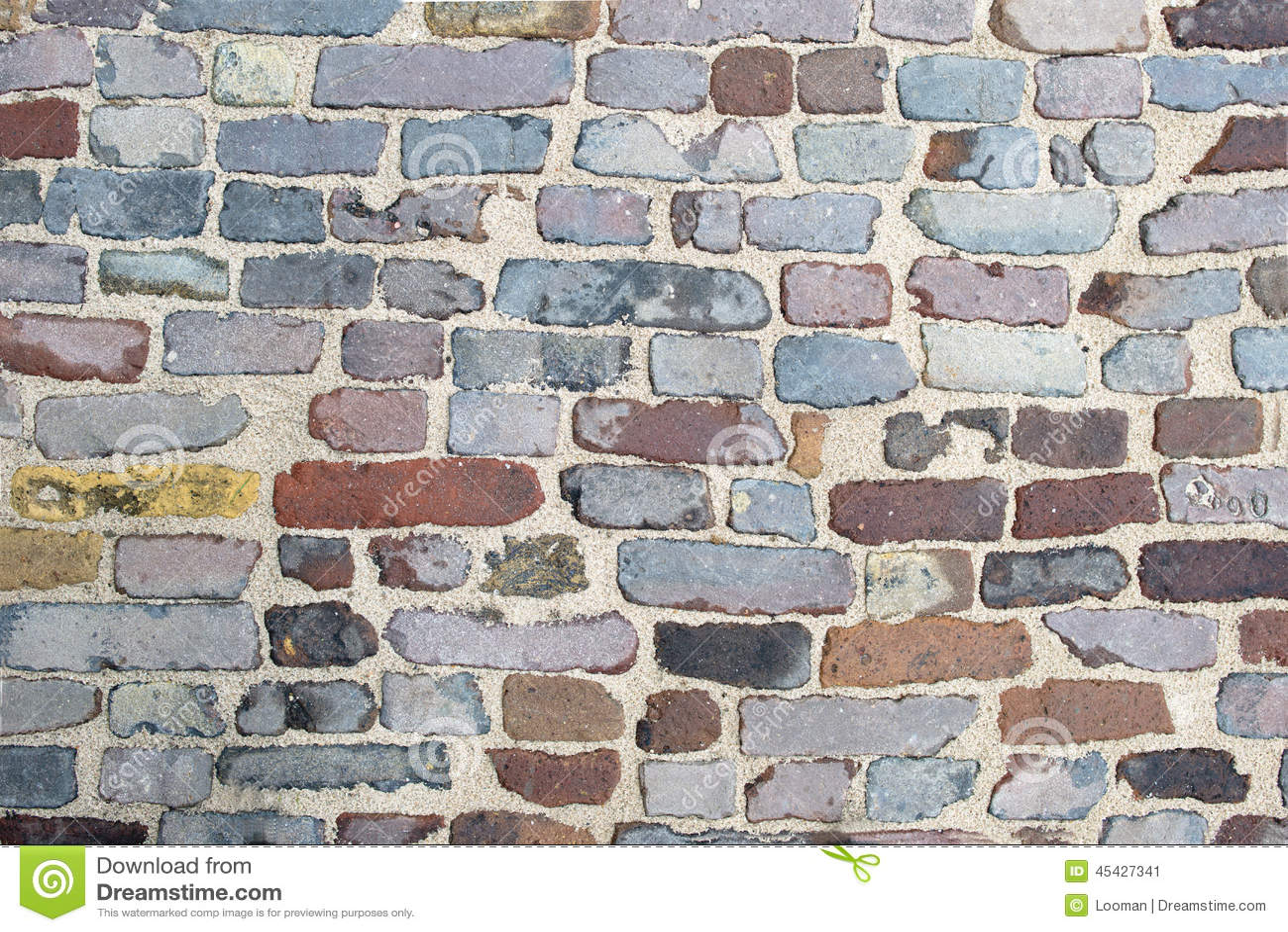 Old brick pattern texture