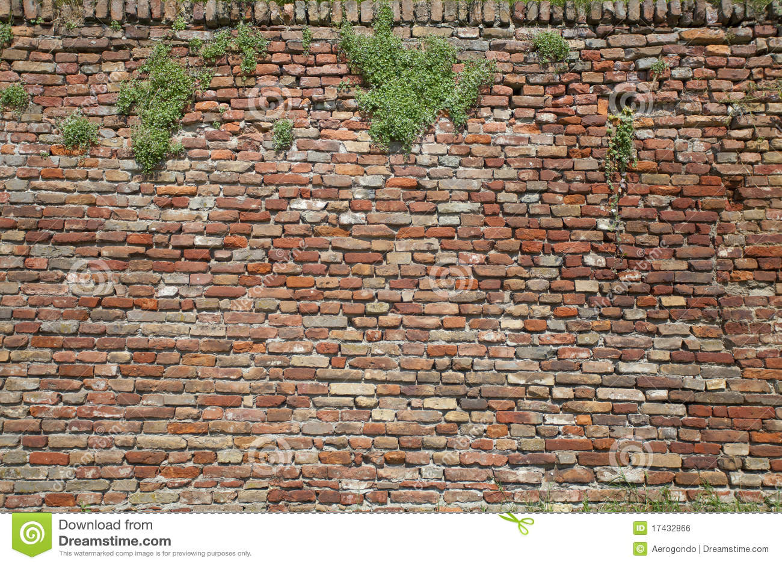 Old Brick Wall Royalty Free Stock Image Image 17432866