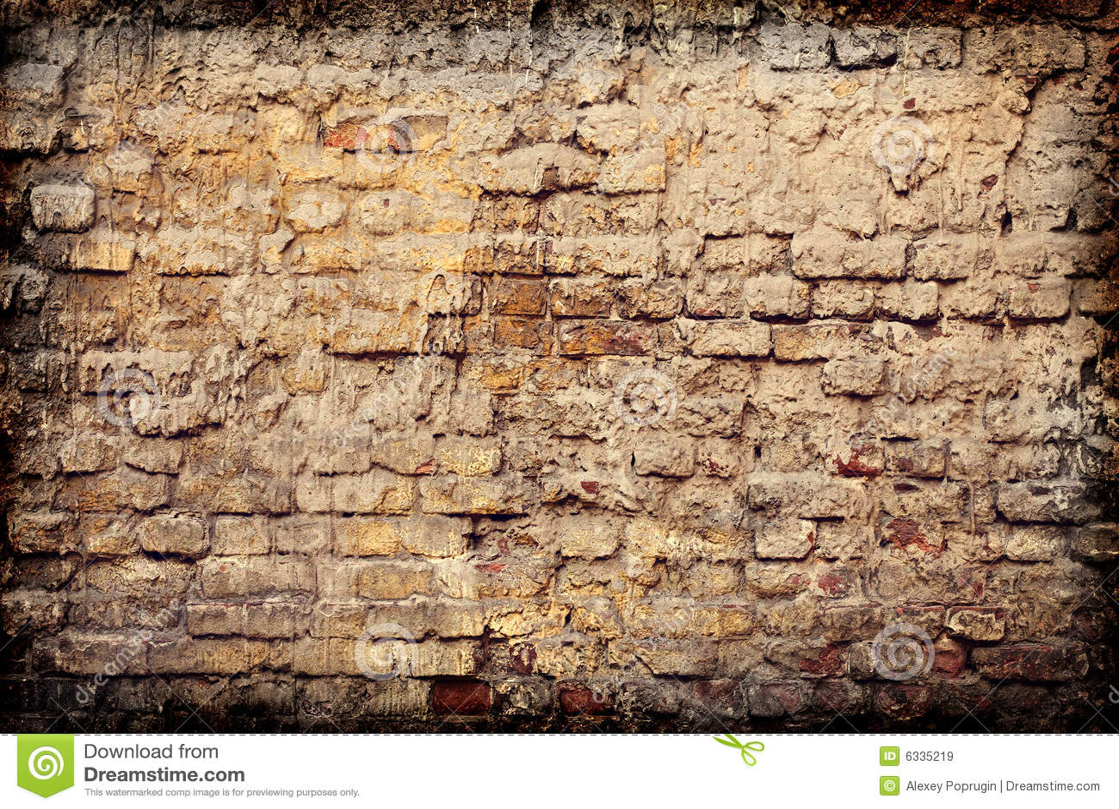 Old Brick Wall Royalty Free Stock Images Image 6335219