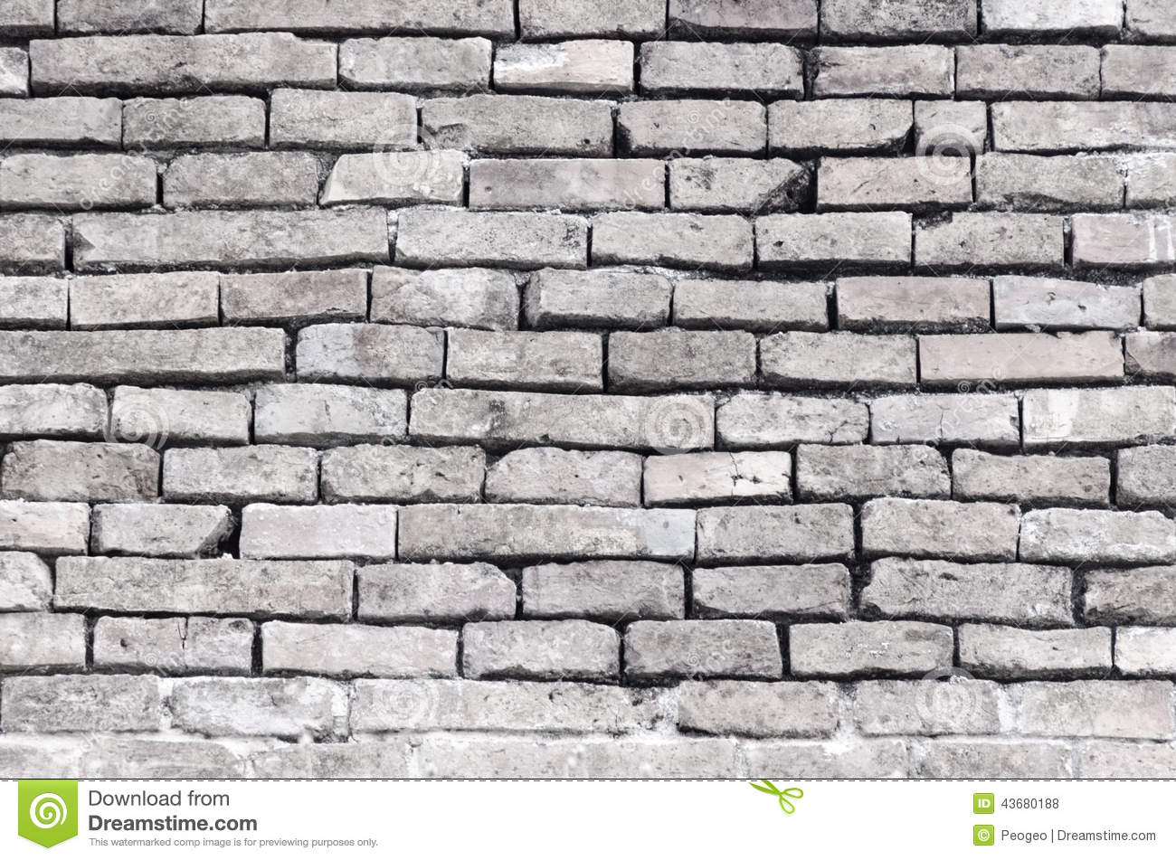 Old Brick Wall Stock Photo Image 43680188
