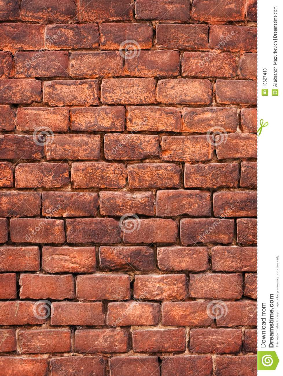 Old Brick Wall Background Stock Photos Image 13627413