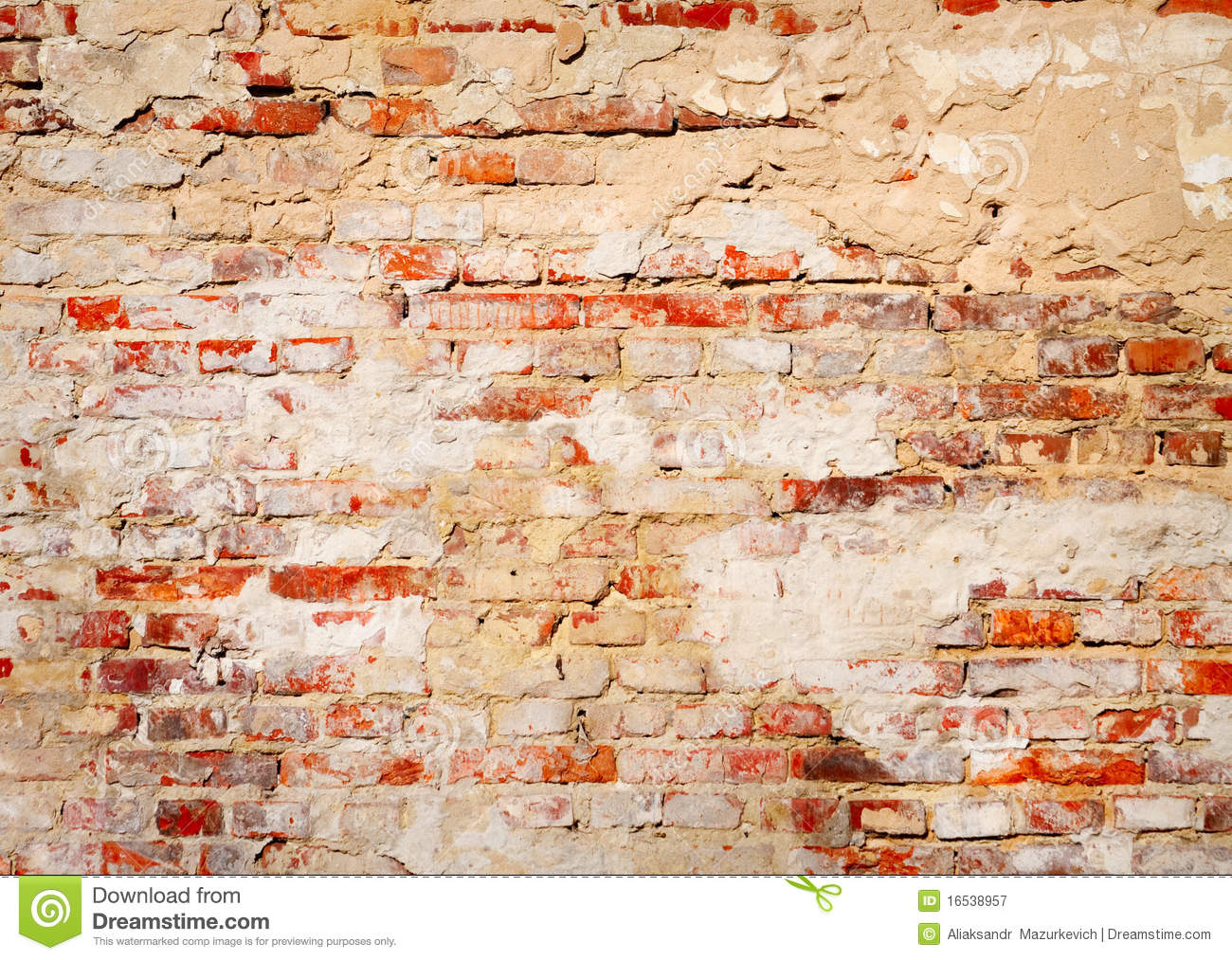 Old Brick Wall Background Stock Image Image Of Clay