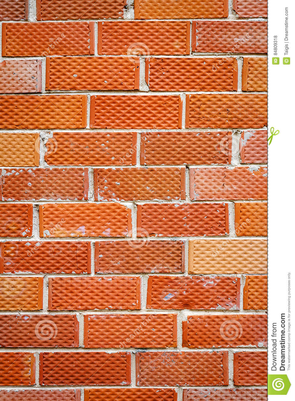 Old Brick Wall Stock Photo Image Of Pieces Brick Masonry 84809318