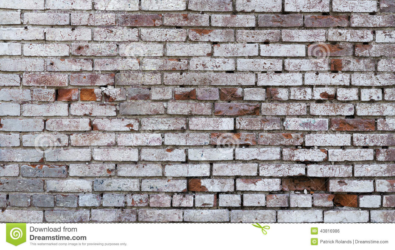 Old Brick Wall Background Texture Stock Photo Image