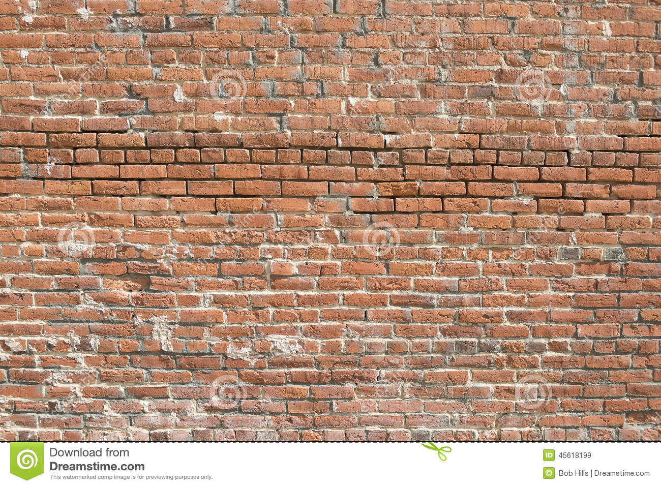 Old brick wall horizontal stock photo image 45618199 for Uses for old bricks
