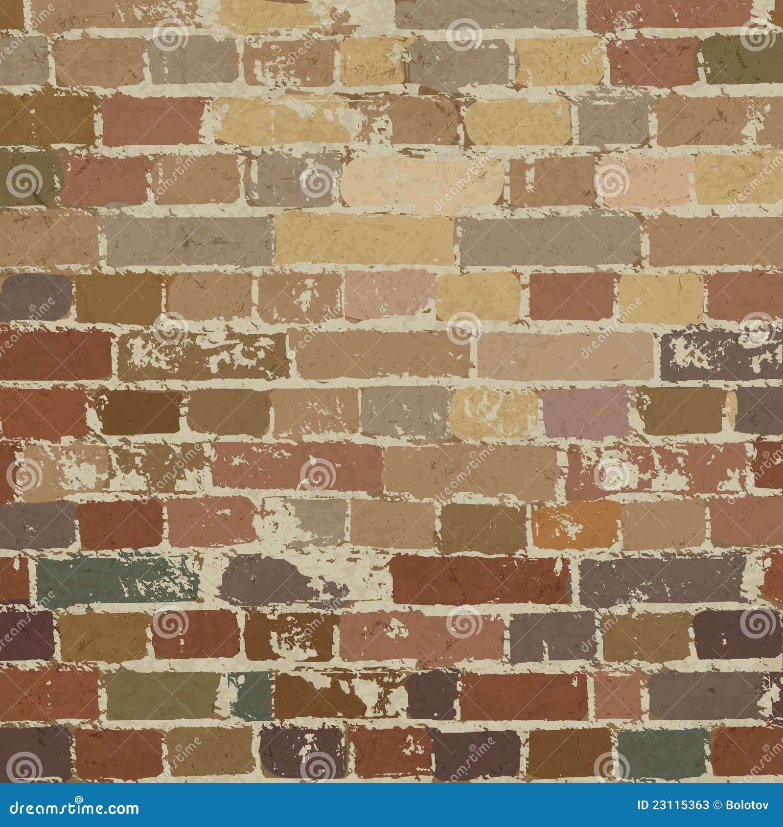 Old Brick Wall Pattern Stock Photos Image 23115363