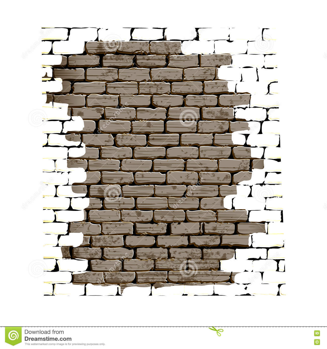 how to make a hole in brick wall