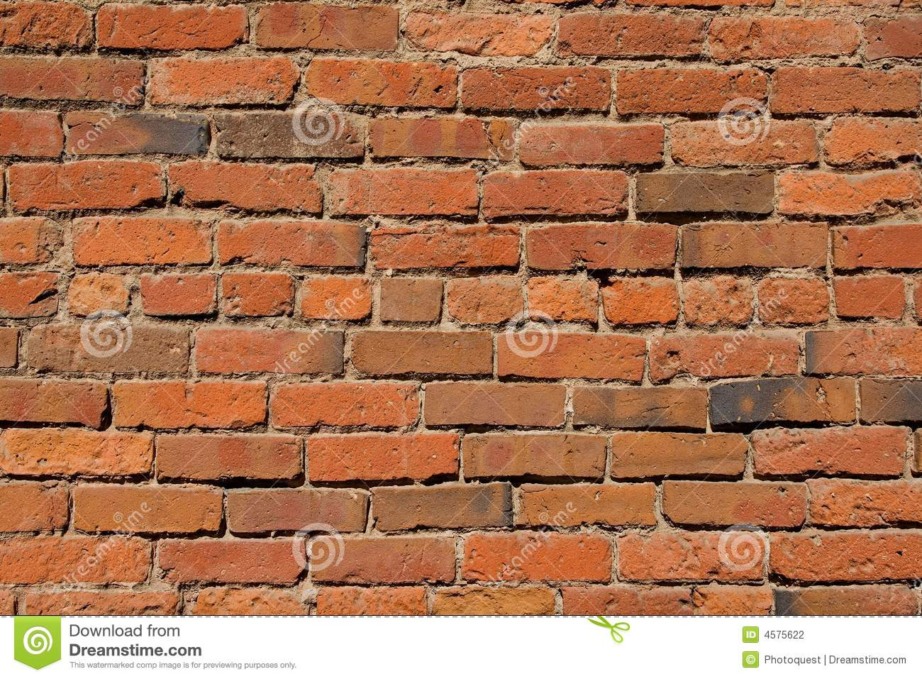 Old Brick Wall Texture Stock Photography Image 4575622