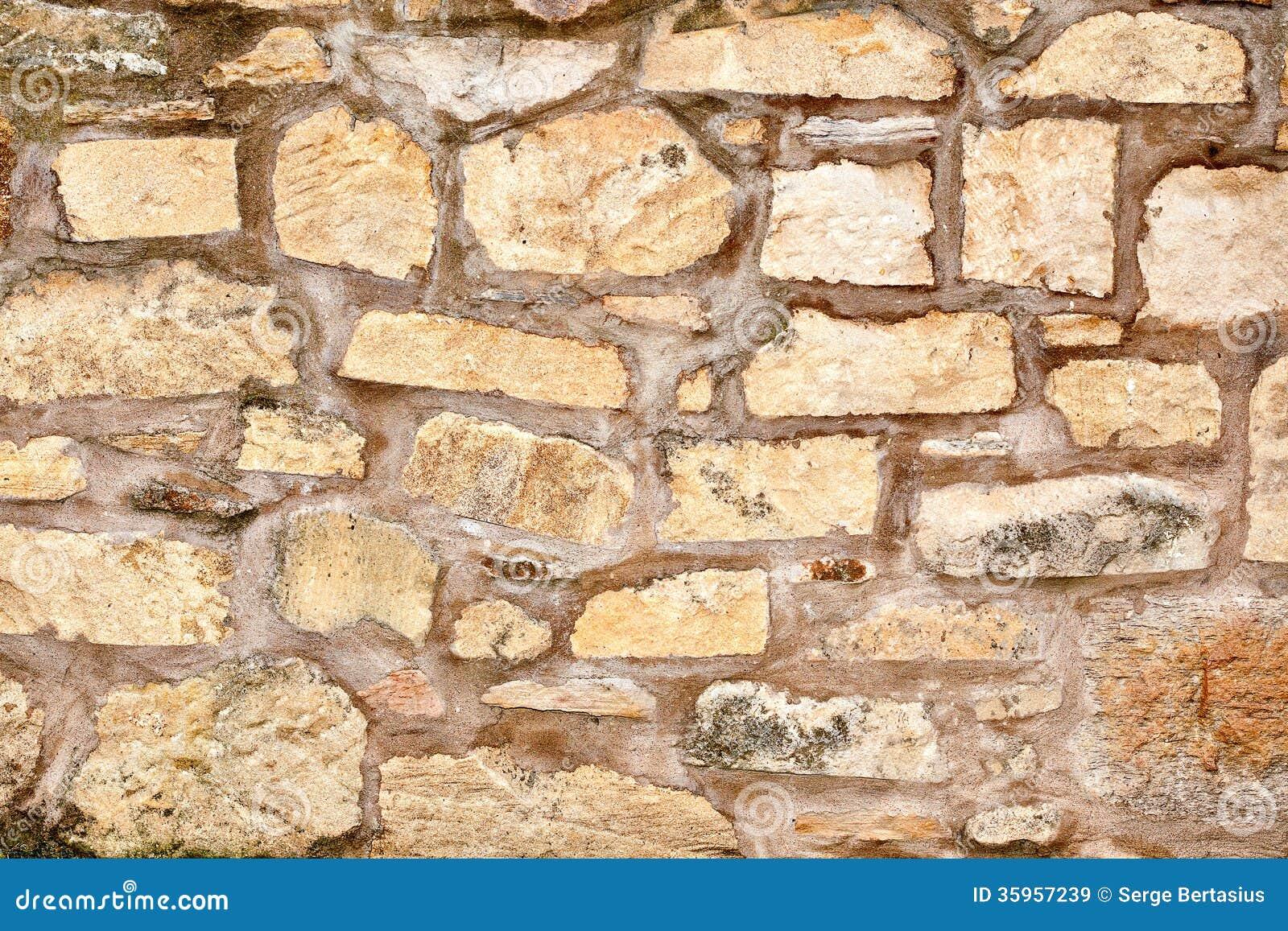 Old Brick Wall Decor : Old brick wall texture royalty free stock images image