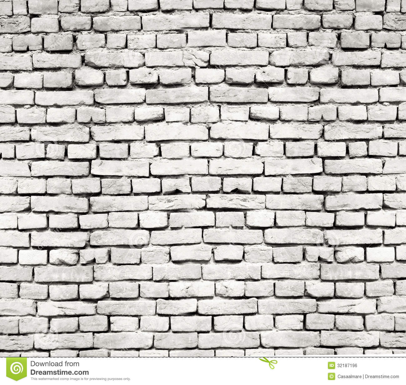 Hourwall Classicbrick Vintagewhite: Old Brick Wall Stock Photo. Image Of Pattern, Retro
