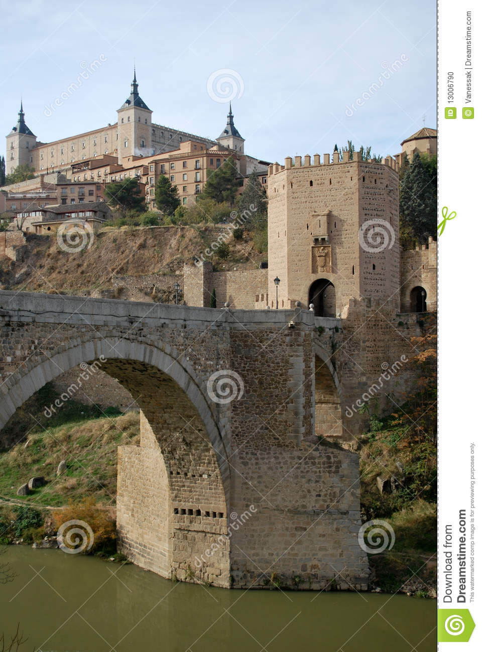 Old bridge in Toledo