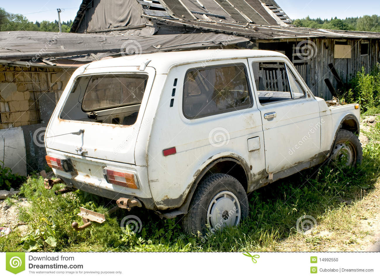 old broken car stock photo image of metall historic 14992550