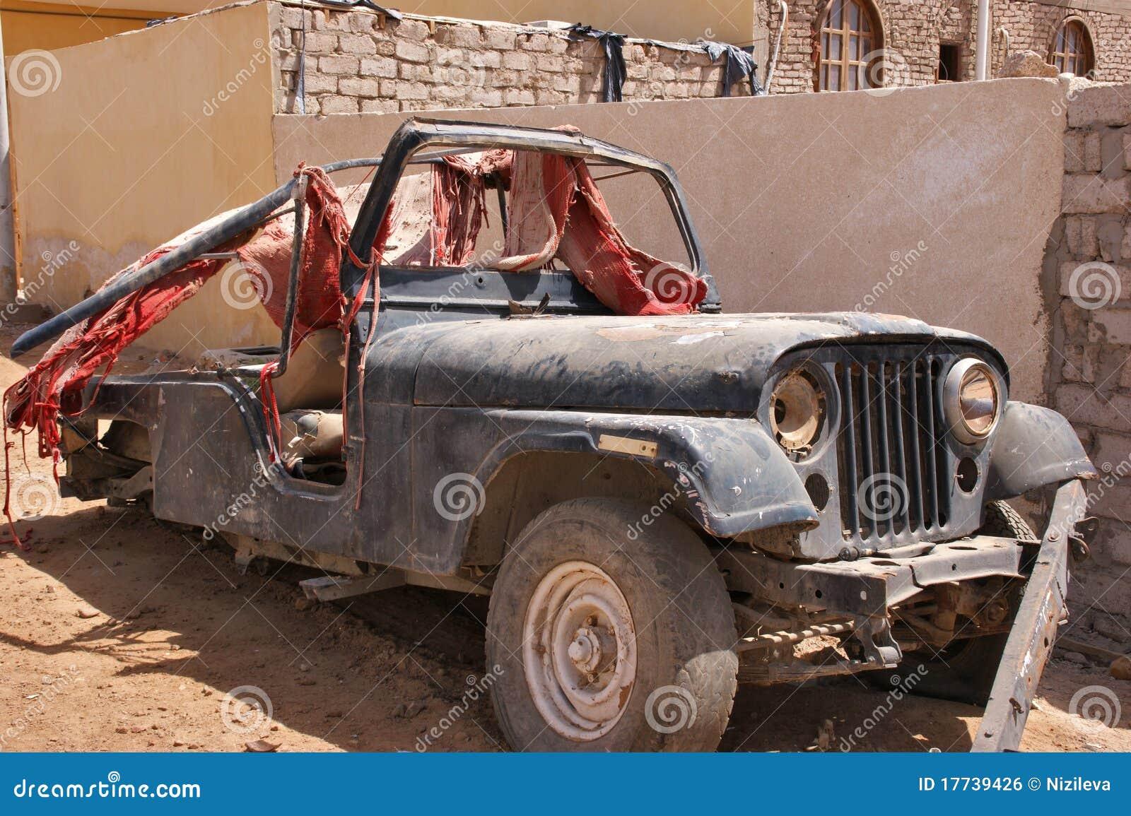 Old Broken Car Royalty Free Stock Image Image 17739426