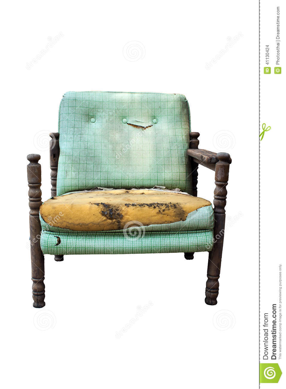 Old Broken Chair Stock Photo Image Of Color Minimalist