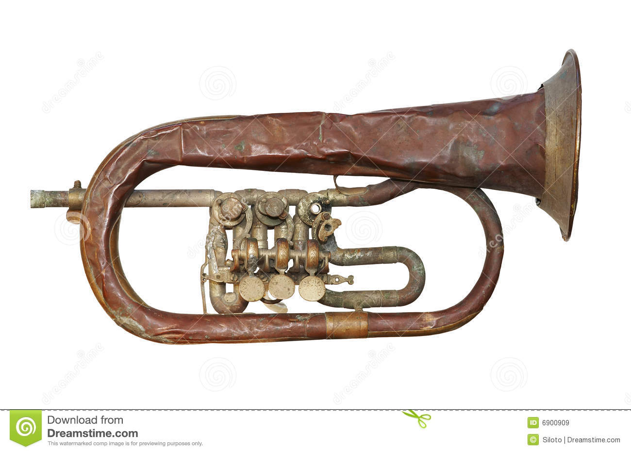 how to fix a broken trumpet