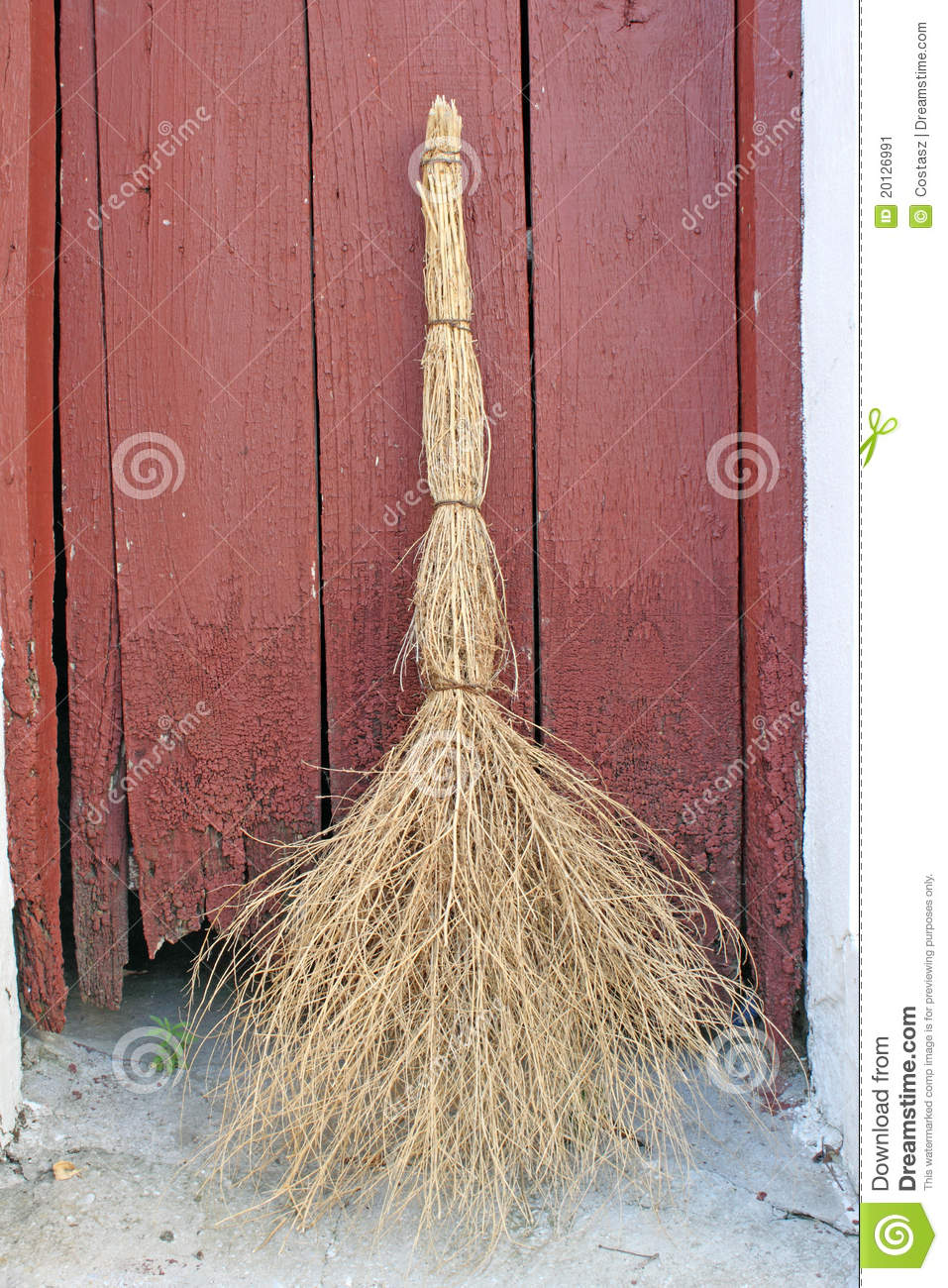 Old Broom Stock Image Image 20126991