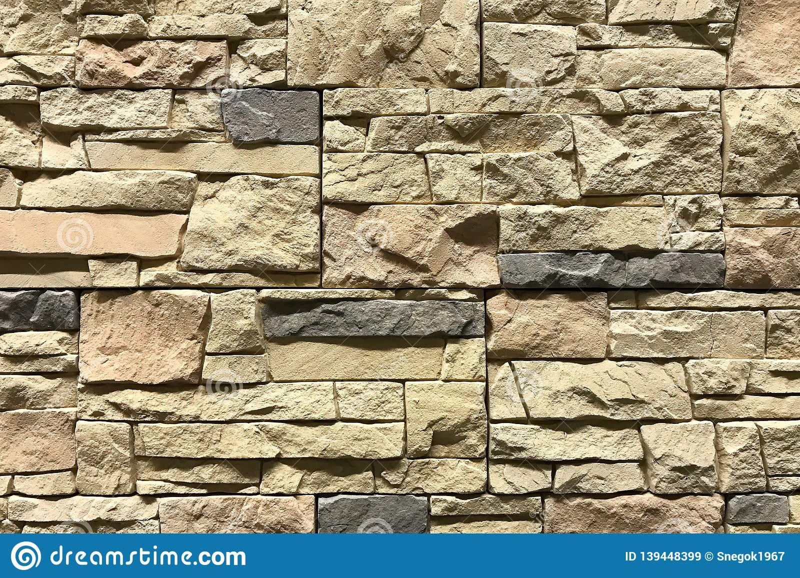 Old Brown Bricks Wall Pattern Background Interior Decor And