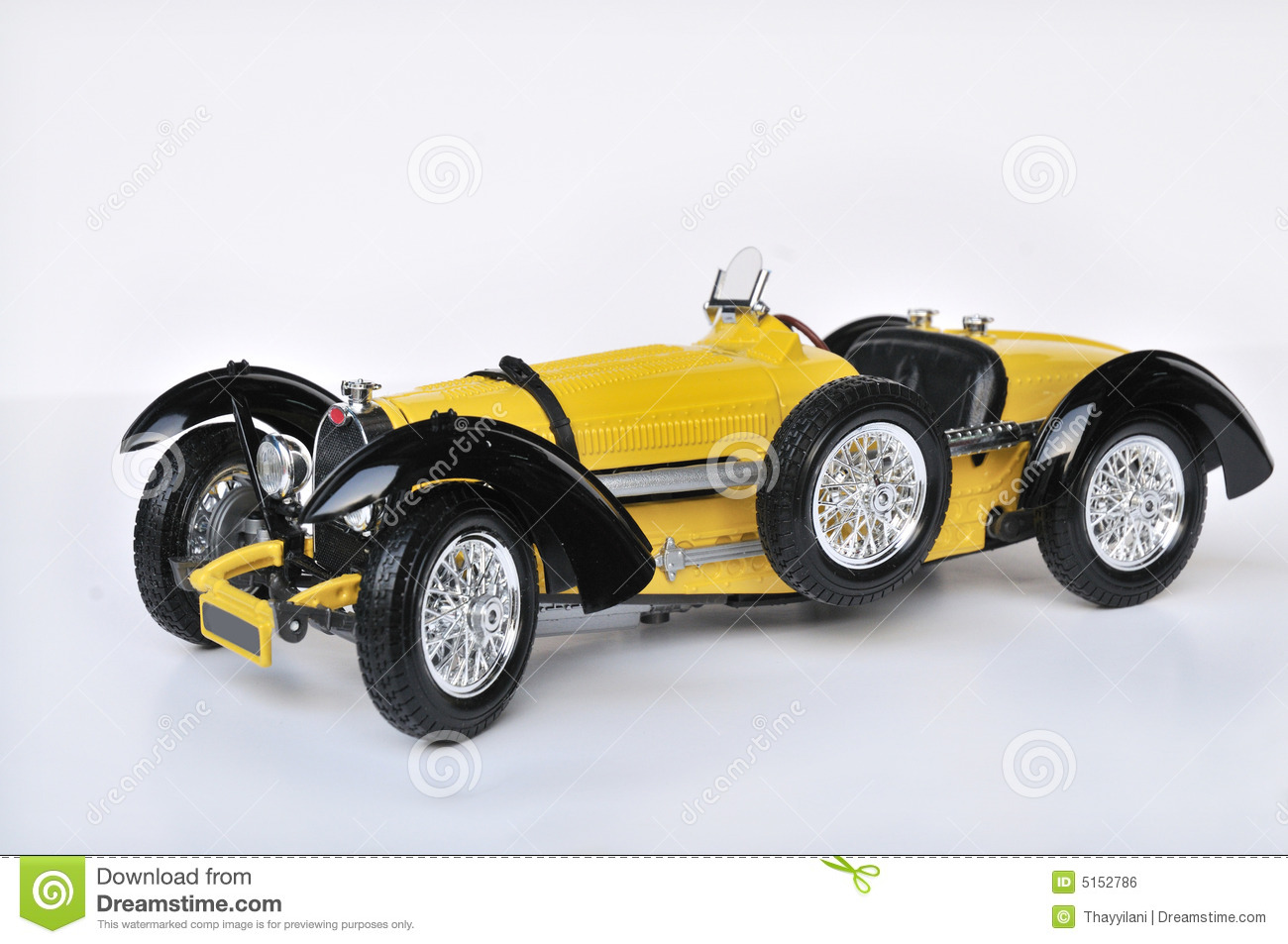 Old Bugatti Car Royalty Free Stock Image