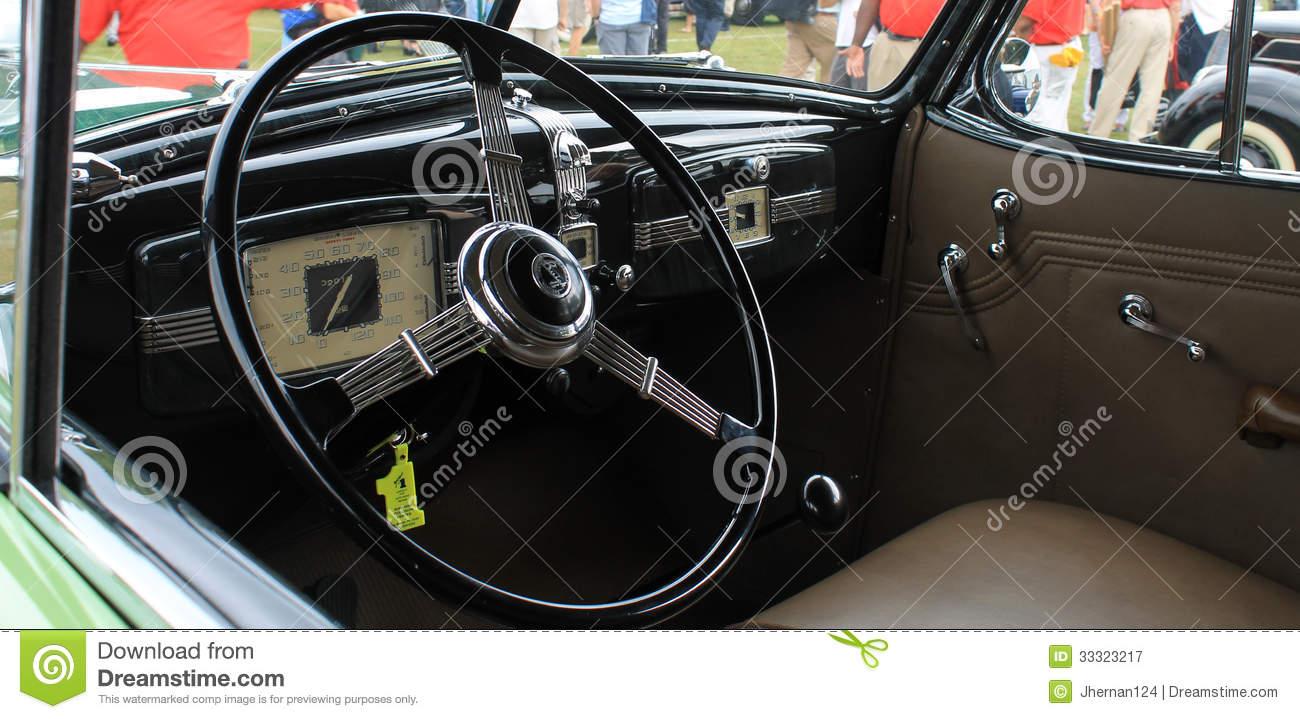 Old Buick Interior Editorial Photography Image 33323217