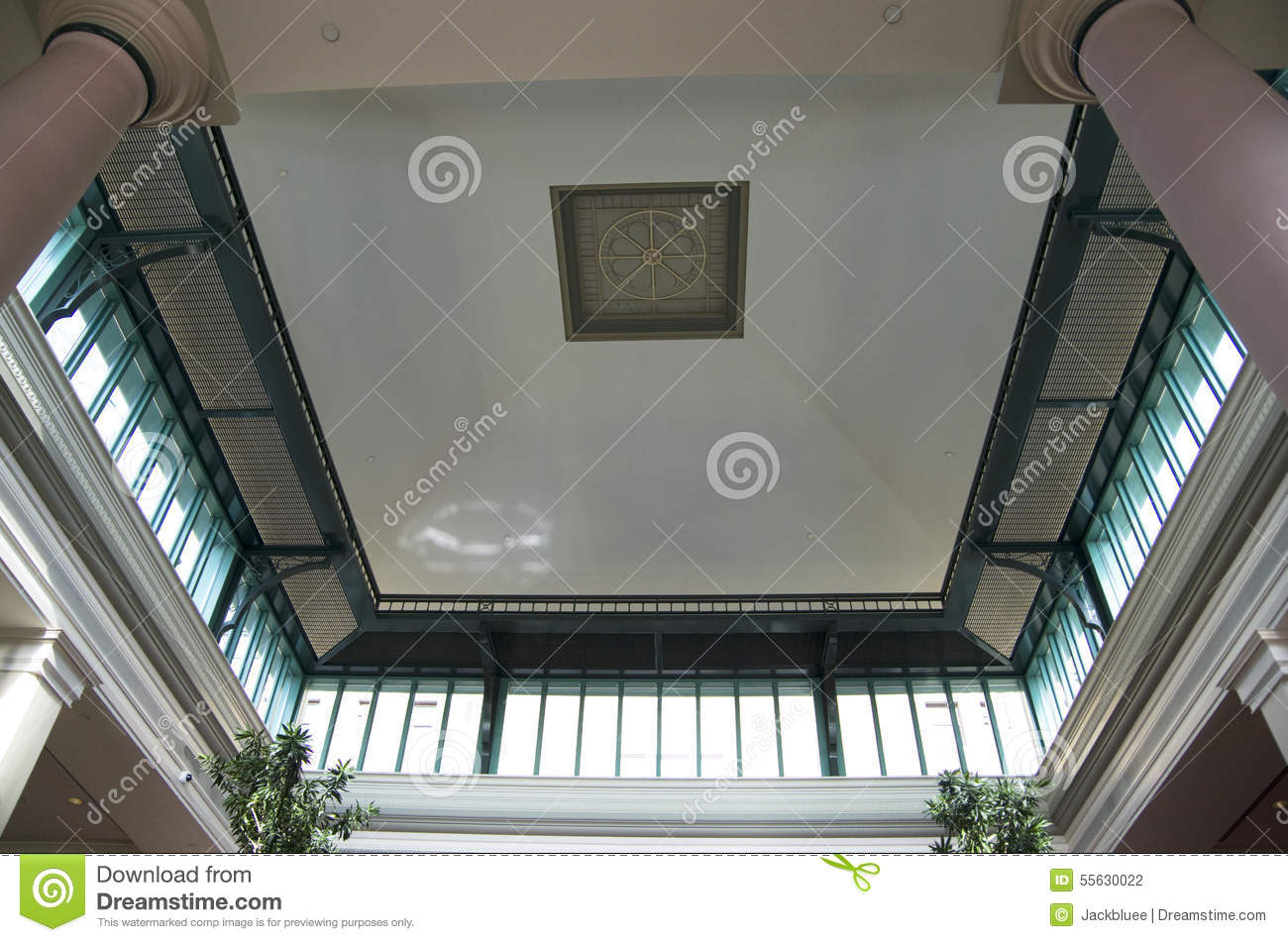 Old building ceiling stock photo image of building for Unique design hotel