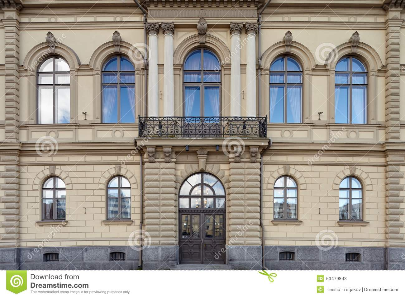 Old building facade stock photo image 53479843 Building facade pictures