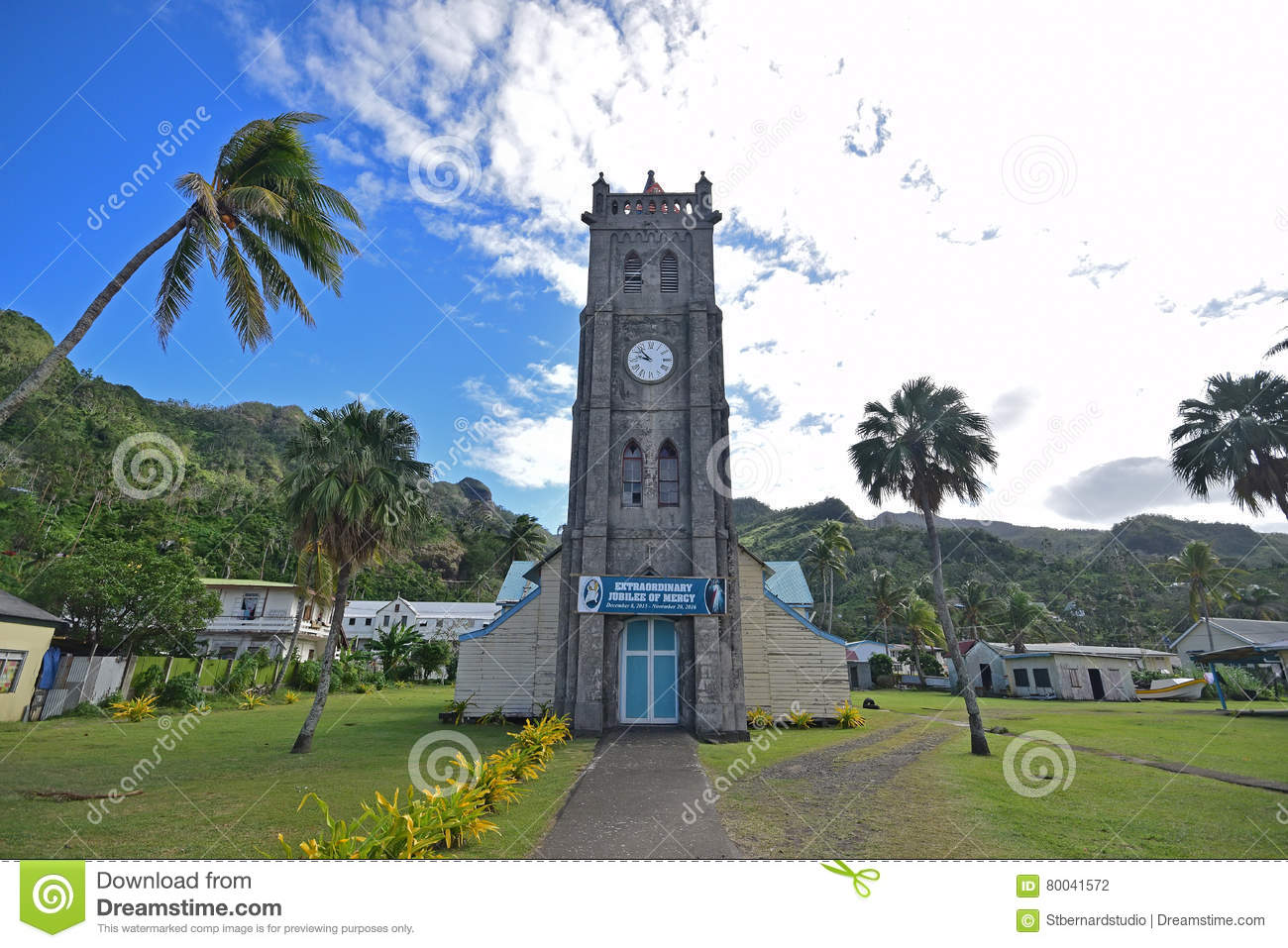 Dunk Island Has Been Rebuilt: An Old Building In Levuka, Ovalau Island, Fiji Which Is