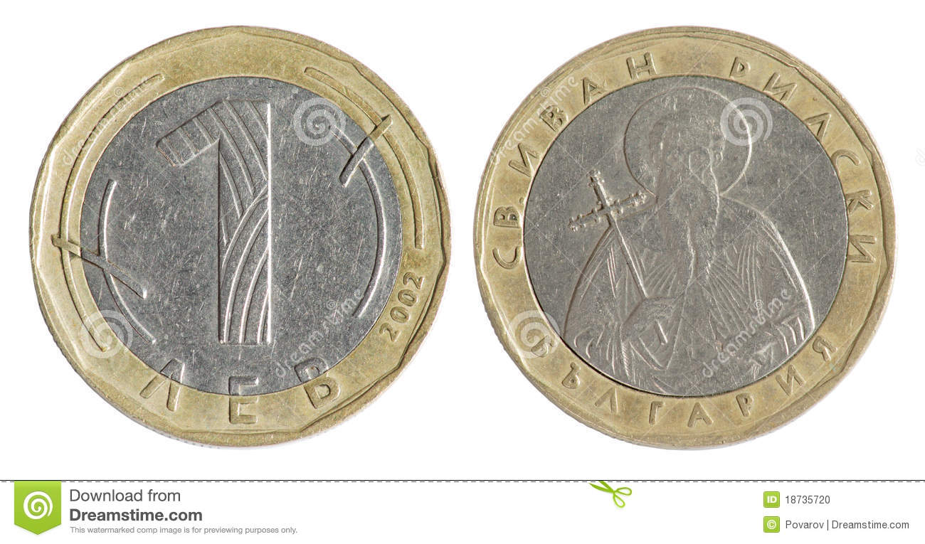 Old coins and currency values.